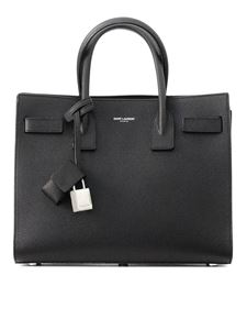 Saint Laurent - Baby Sac de Jour leather handbag in black