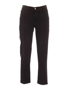Frame - 5-pocket jeans in black