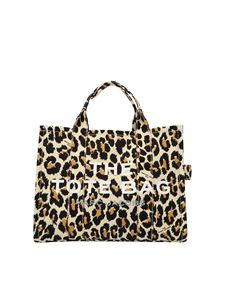 Marc Jacobs  - Small Traveler Tote shopper in animal print