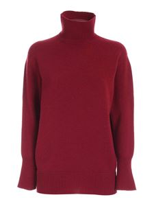 Agnona - Cashmere turtleneck in red