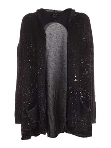 Avant Toi - Cashmere cardigan in black