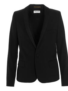 Saint Laurent - Iconic Le Smoking blazer in black