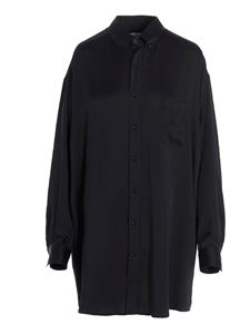 Maison Margiela - Oversized shirt in black