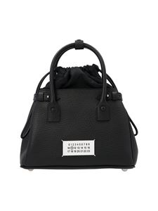 Maison Margiela - 5AC medium drawstring bag in black