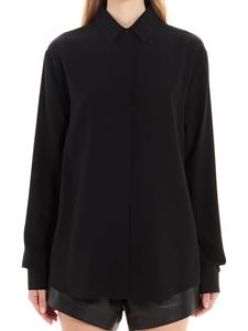 Saint Laurent - Silk shirt in black
