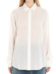 Saint Laurent - Silk shirt in white