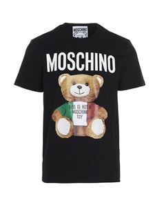 Moschino - Italian Teddy Bear T-shirt in black