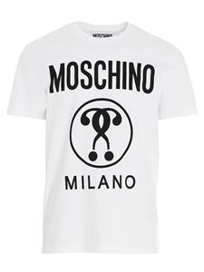 Moschino - Moschino Couture logo t-shirt in white