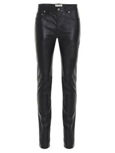 Saint Laurent - Skinny trousers in black leather