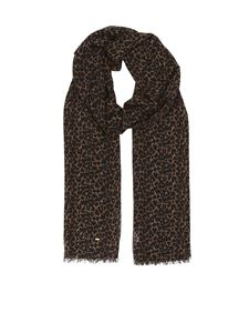 Saint Laurent - Animal print scarf