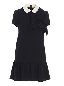 Red Valentino - Bow dress in black