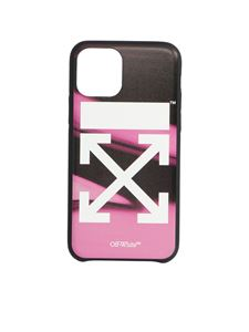 Off-White - Arrow fluid melt cover in pink