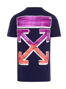 Off-White - Marker T-shirt in purple
