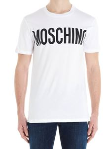 Moschino - Moschino logo t-shirt in white