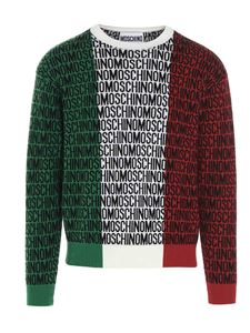 Moschino - Lost & Found tricolor pullover in multicolor