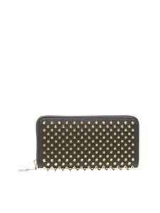 Christian Louboutin - Panettone wallet in black and gold