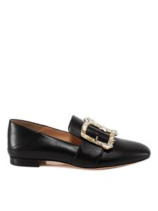 Bally - Janelle embellished loafers in black