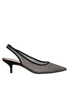 Stuart Weitzman - Vea slingbacks in black