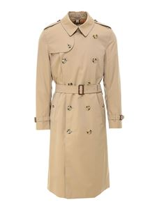 Burberry - Trench The Kensington Heritage lungo beige