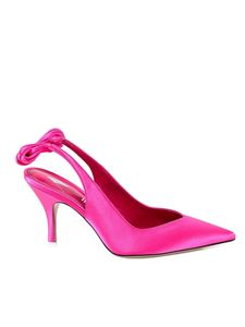 The Attico - Venus slingback pumps in pink