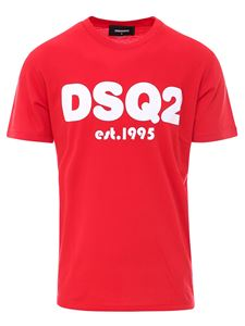 Dsquared2 - Cotton T-shirt in red