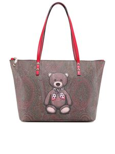 Etro - Toys large tote bag in brown