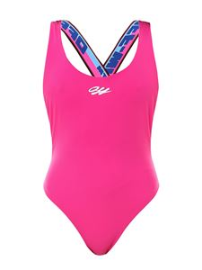 Off-White - One-piece swimsuit in pink
