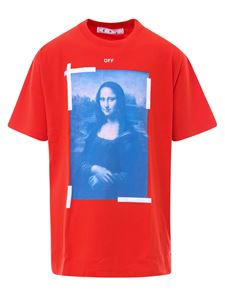 Off-White - Monalisa T-shirt in red