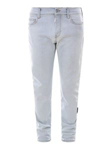 Off-White - Denim skinny jeans in light blue