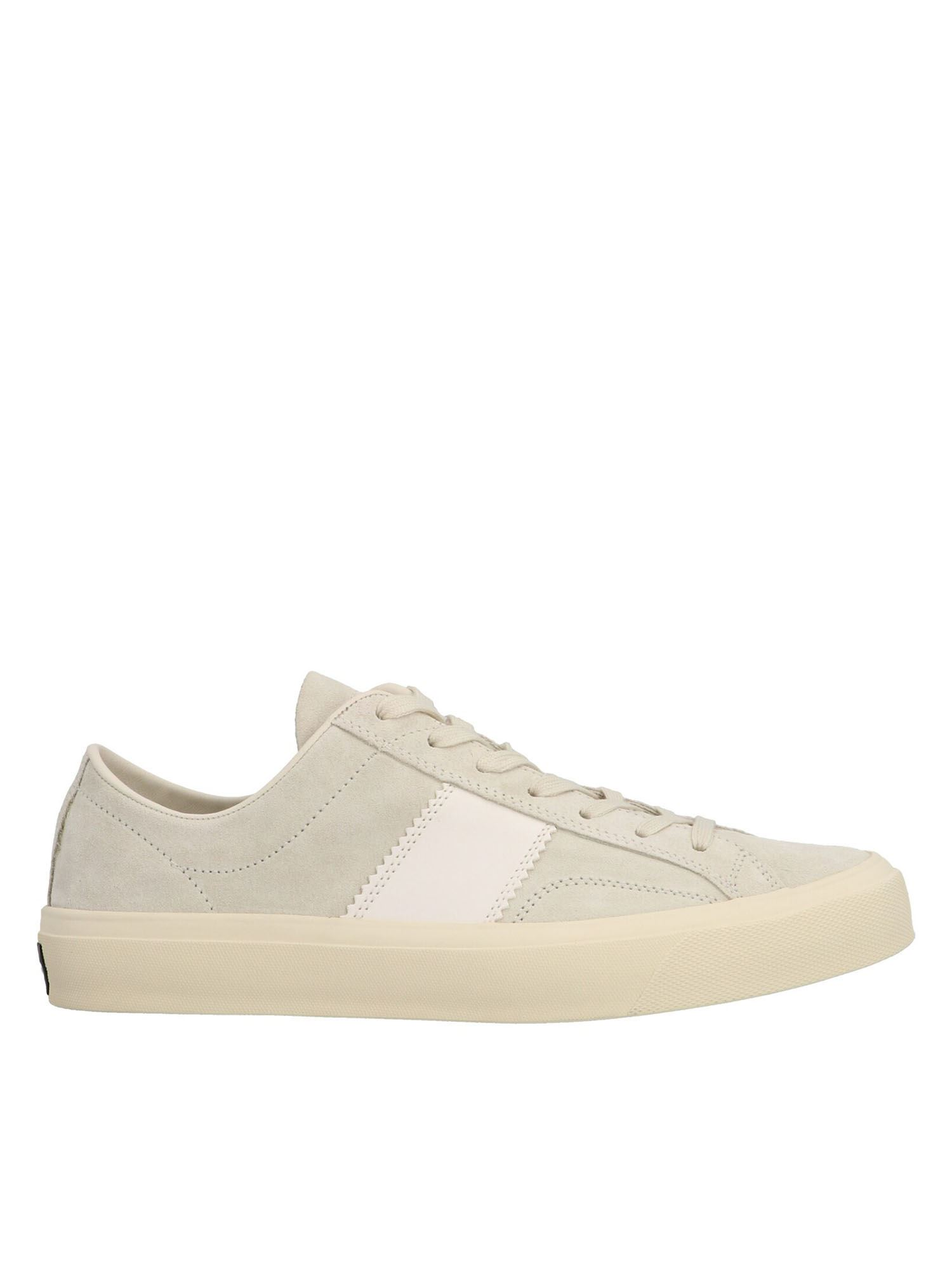 Tom Ford CAMBRIDGE SNEAKERS IN WHITE