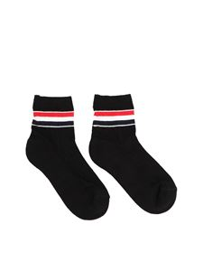Thom Browne - Athletic Ankle Socks in black