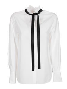 Chloé - Removable lavallière high neck blouse