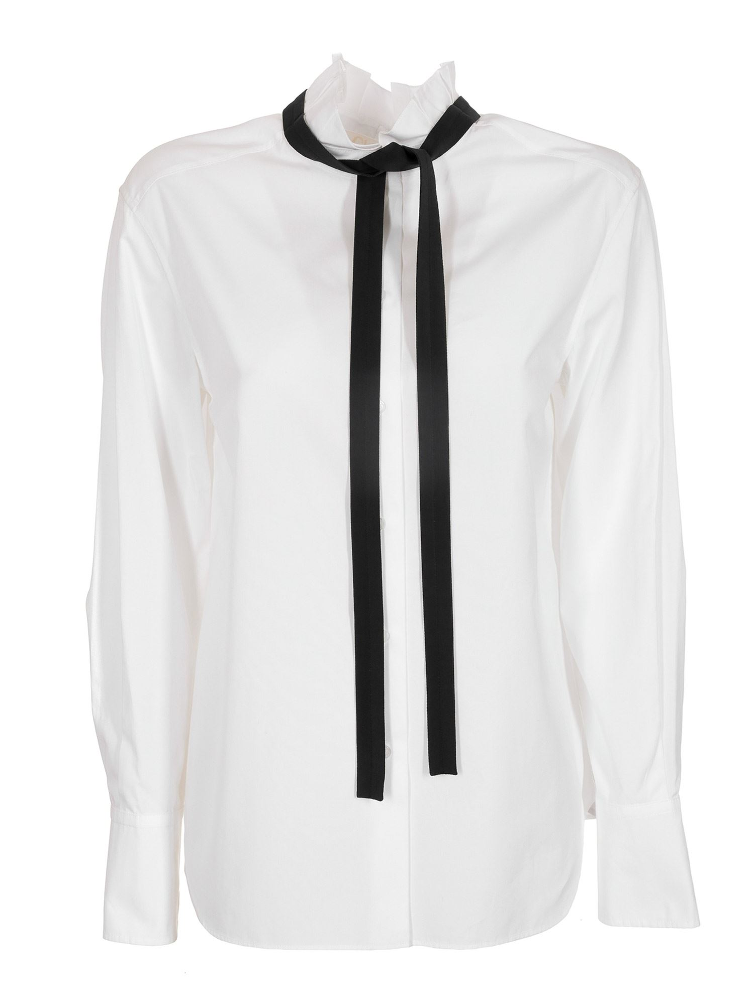 Chloé REMOVABLE LAVALLIÈRE HIGH NECK BLOUSE