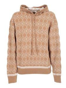 Chloé - Monogram sweater in beige