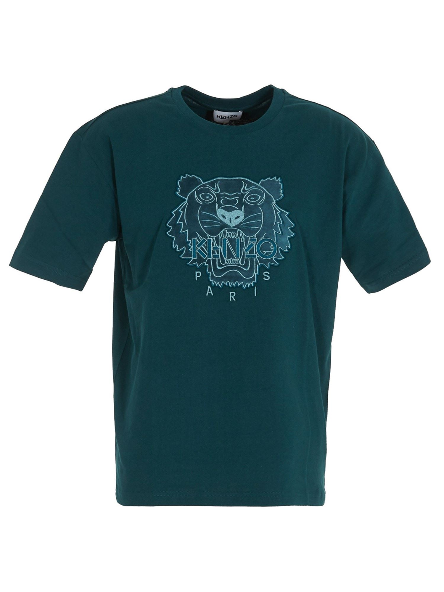 KENZO TIGER T-SHIRT IN BLUE