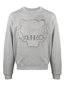 Kenzo - Tiger cotton sweatshirt in grey