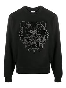 Kenzo - Tiger cotton sweatshirt in black