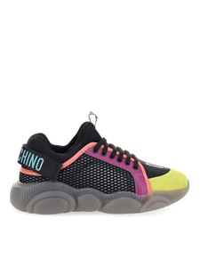 Moschino - Colourful mesh sneakers