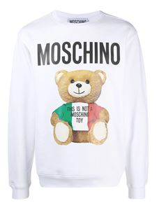 Moschino - Teddy sweatshirt in white