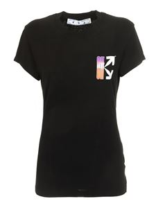 Off-White - Gradient Carryover Fitted T-shirt in black