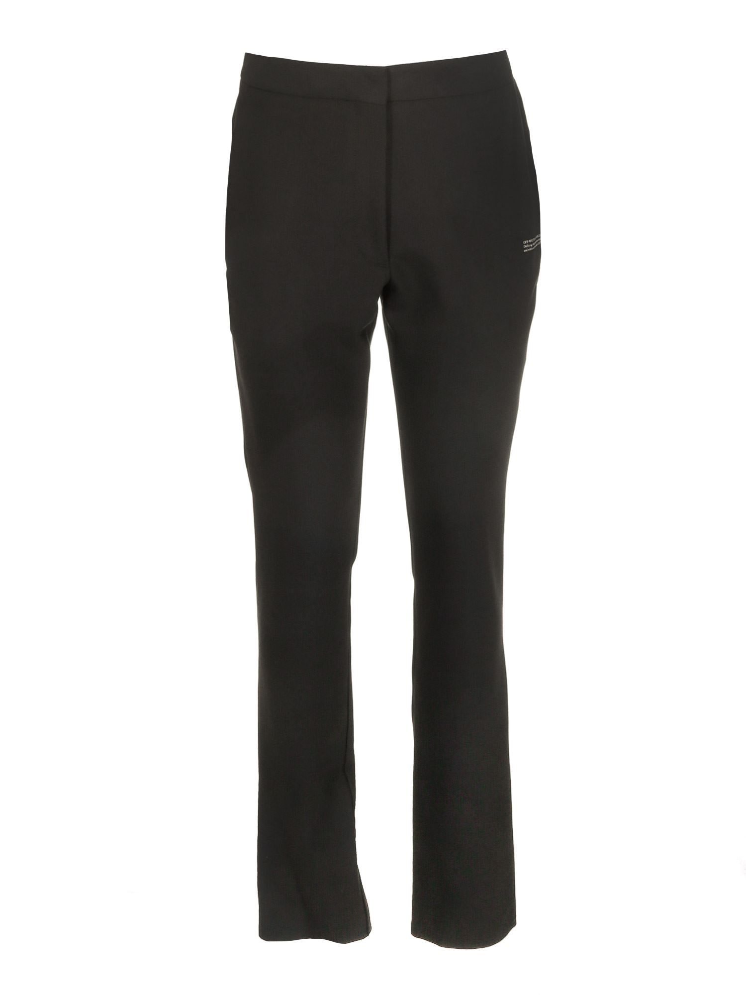 Off-white Tailored Pants In Black