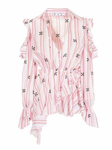 Off-White - New Roman blouse in pink