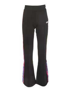 Off-White - Athleisure track pant in black
