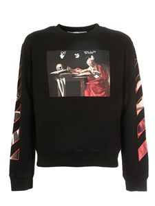 Off-White - Caravaggio sweatshirt in black