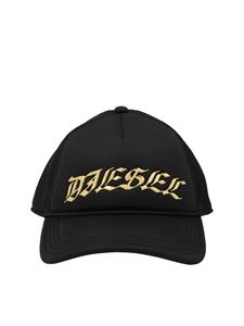 Diesel - C-Truc baseball cap in black