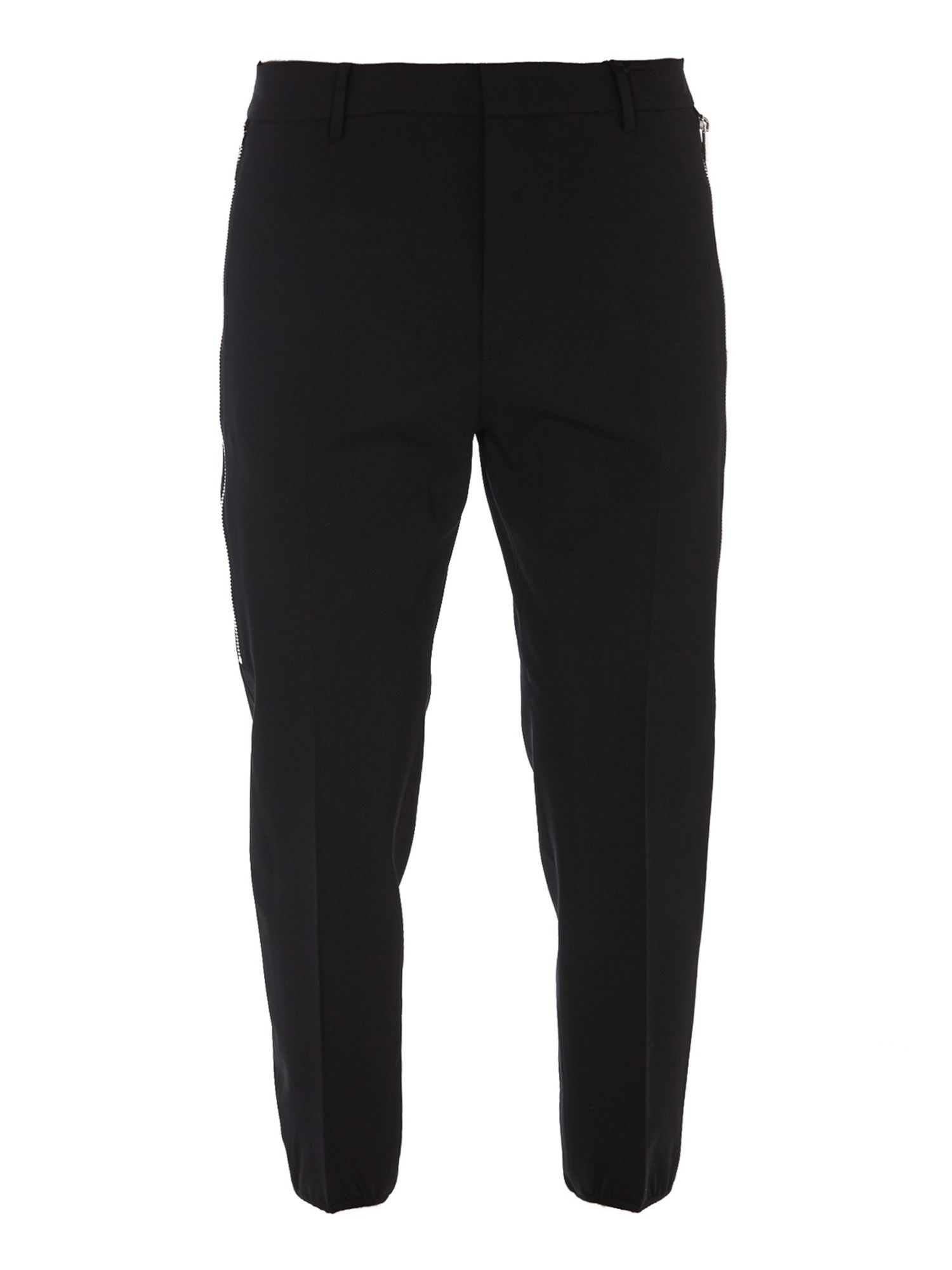 Dsquared2 Brad Wool Trousers In Black