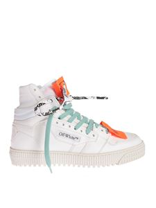 Off-White - 3.0 Off Court Hi-Tops sneakers in white