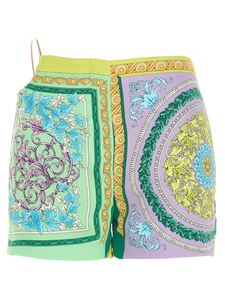 Versace - All-over print multicolor shorts