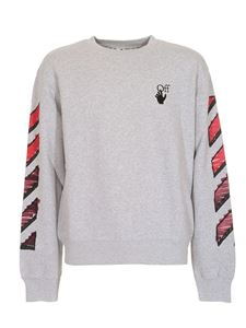 Off-White - Marker sweatshirt in grey