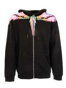 Off-White - Colordust Wings Zip hoodie in black